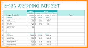 wedding budget 8 wedding budget spreadsheet actor resumed