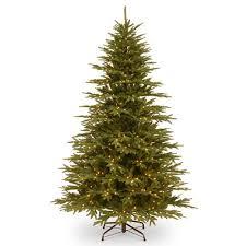 august grove feel real hinged 90 u0027 u0027 green fir artificial christmas