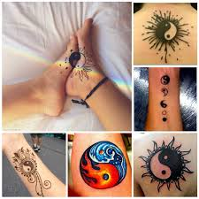 yin yang tattoos for couples yin yang and the fish tattoo design