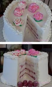 df u0027s wedding ring silky white cake with raspberry filling and