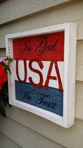 reclaimed wood usa sign in god we trust wall decor pallet reclaimed wood usa sign in god we trust wall decor pallet decor