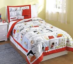 Snoopy Bed Set Cheap Bedding Sets Snoopy Peanuts Comic Bedding Set