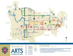 Metrolink Los Angeles Map by Tap Cards Can Now Be Used On Pasadena Arts Buses The Source