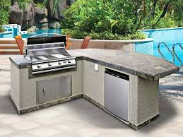 outdoor kitchen island kits outstanding outdoor kitchen island kits with prefabricated