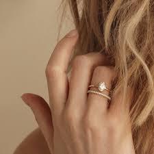 minimalist engagement ring minimalist engagement rings popsugar