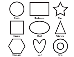 Basic Shapes Coloring Sheet Pixie Budget Coloring Pages Shapes