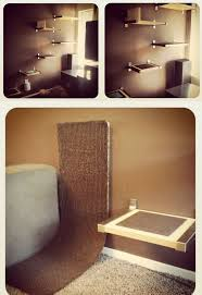 Wall Shelves For Cats 74 Best Cat Houses Images On Pinterest Cats Cat Stuff And Animals