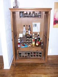 kitchen bar cabinet ideas furniture brown wooden bar cabinet with wine bottle racks and glass