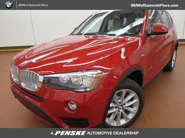 red bmw 2017 2017 used bmw x3 sdrive28i at bmw of gwinnett place serving