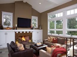 living room paint ideas with fireplace interior design