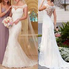 Lace Wedding Dresses Wedding Dresses Ebay