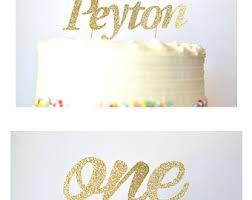 number cake topper customizable tassel topper cake topper pie topper cupcake