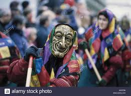 tuesday costumes germany baden wurttemberg ehingen witches europe carnival