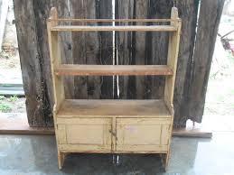 szentes antik antique furniture pine shelf