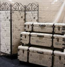 paris room divider and trunks accent furniture pinterest