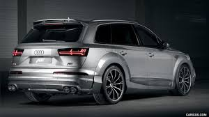 audi q7 modified 2017 abt sq7 widebody based on audi q7 caricos com