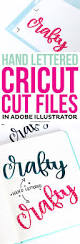 68 best cricut images on pinterest vinyl crafts vinyl projects learn how to create hand lettered cricut cut files in adobe illustrator this is a