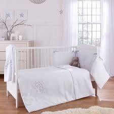 Crib Bedding Bale Clair De Lune 3pc Cot Bed Bedding Bale Stardust White