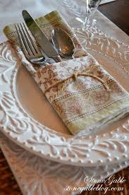 Casual Table Setting Formula For Setting A Casual Table Stonegable
