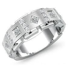 mens white gold wedding rings mens 18ct white gold 1 carat diamond wedding ring 326 newburysonline