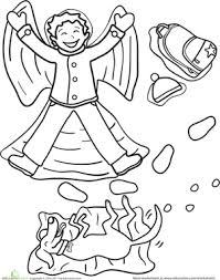 angel coloring pages education