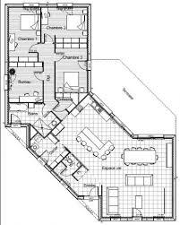 plan de maison 5 chambres plain pied plan maison 5 chambres plain pied plan maison plain pied chambres