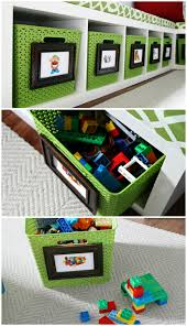 How To Make A Toy Storage Bench by Iheart Organizing Our Playroom Reveal
