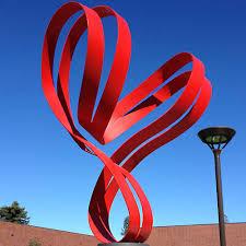 large ribbon ribbon sculptures archives searles sculptures