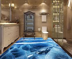 cuisine salle de bains 3d revêtement de sol 3d vinyle pvc épais cuisine salle de bain lino