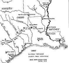 Louisiana Rivers Map Stanley Nelson A Glimpse Of The Red River Valley The Concordia
