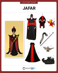 Jafar Halloween Costume Dress Jafar Costume Halloween Cosplay Guides