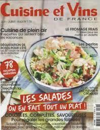 cuisines et vins cuisine et vins de juin juillet 2017 calmel joseph