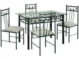 table ronde avec chaises ensemble table et chaise de cuisine table de cuisine sous de