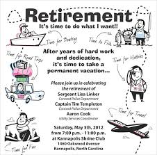 retirement announcement retirement party flyer template retirement party flyer template 9