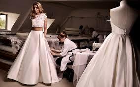 bridalwear inspiration 32 two piece wedding dresses wedding