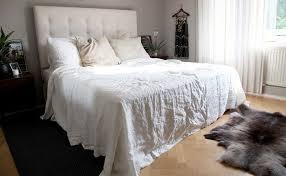 Linen Bed Rough Linen Summer Bed