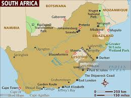 Map South Africa Map Of South Africa Stock Illustration Getty Images