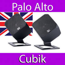 palo alto cubik 2 0 powered designer speakers macbook laptop desktop