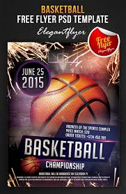 13 free basketball flyer psd images basketball tournament flyer