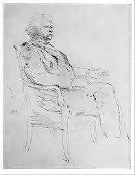file pen sketch of mark twain by john white alexander jpg