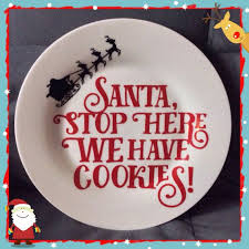 best 25 cookies for santa plate ideas on santa plates