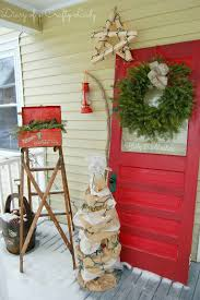 diary of a crafty lady my christmas porch
