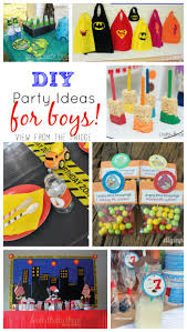 the ultimate diy kids birthday party idea round up view from