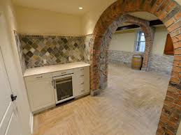 Easy Basement Wall Ideas Tile Basement Floor