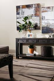 ashley gavelston end table four drawer casual sofa table in weathered brown mathis brothers