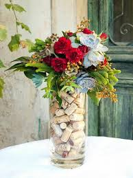 Flowers Glass Vase To Decorate Your Plain Glass Vase And Make It Look Outstanding