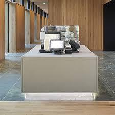 Concrete Reception Desk Corporate Concrete Design Example Reception Desks From Dade