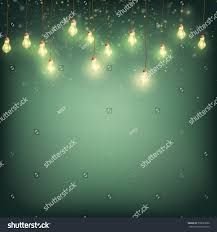 merry christmas card concept glowing lights stock vector 750691690