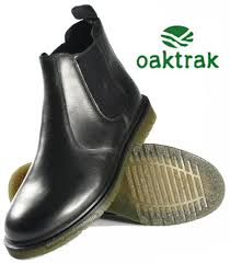winterhill black leather chelsea mens boots
