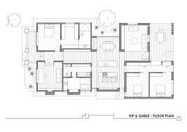 californian bungalow floor plans gallery of hip gable house architecture architecture 20